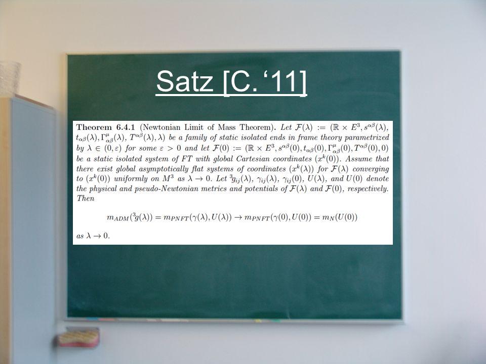 Satz [C. '11]